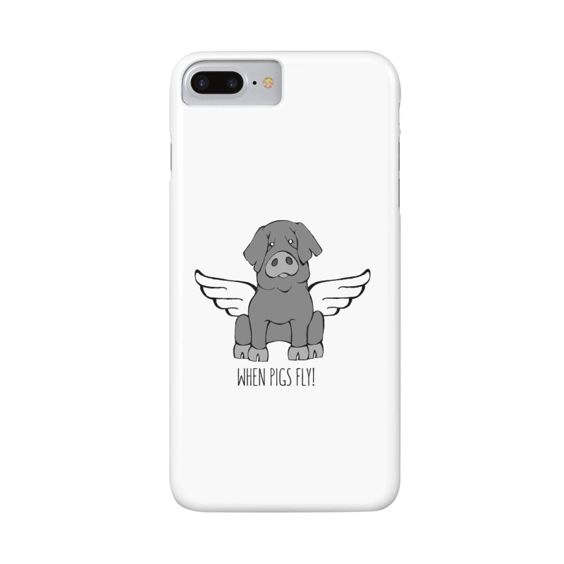 When Pigs Fly: Iberico Accessories Phone Case by Angry Squirrel Studio