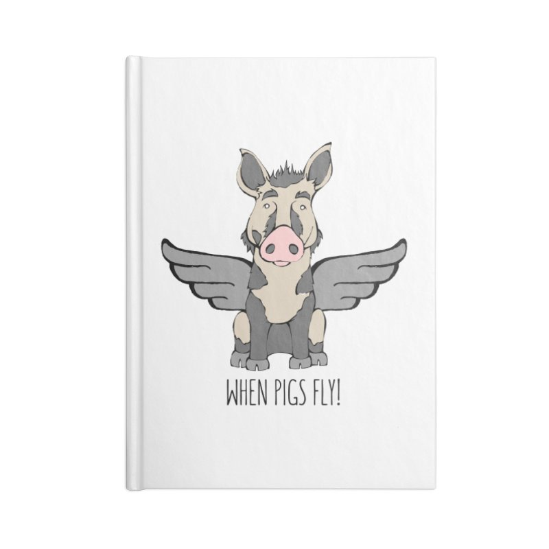 When Pigs Fly: Ossabaw Island Accessories Notebook by Angry Squirrel Studio
