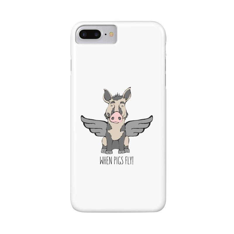When Pigs Fly: Ossabaw Island Accessories Phone Case by Angry Squirrel Studio