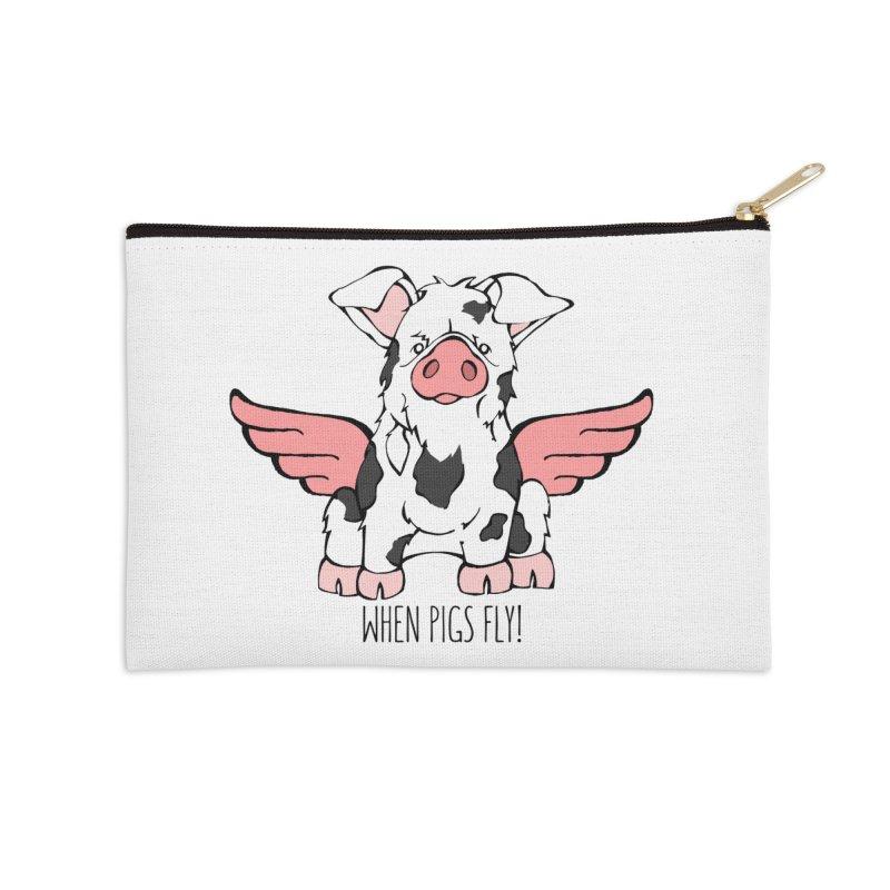 When Pigs Fly: KuneKune   by Angry Squirrel Studio