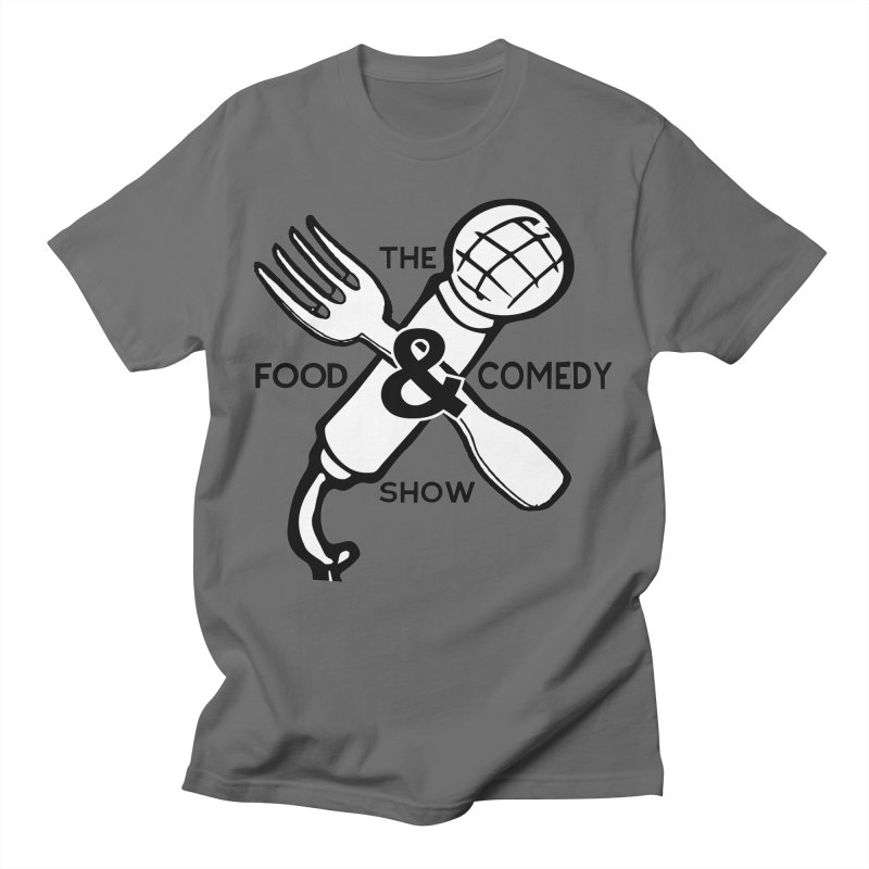The Food & Comedy Show Men's T-Shirt by Angry Squirrel Studio