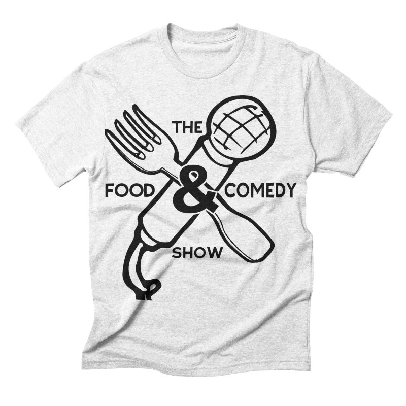The Food & Comedy Show Men's Triblend T-shirt by Angry Squirrel Studio