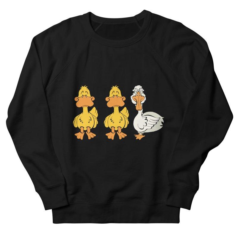 Duck Duck Goose Men's Sweatshirt by Angry Squirrel Studio