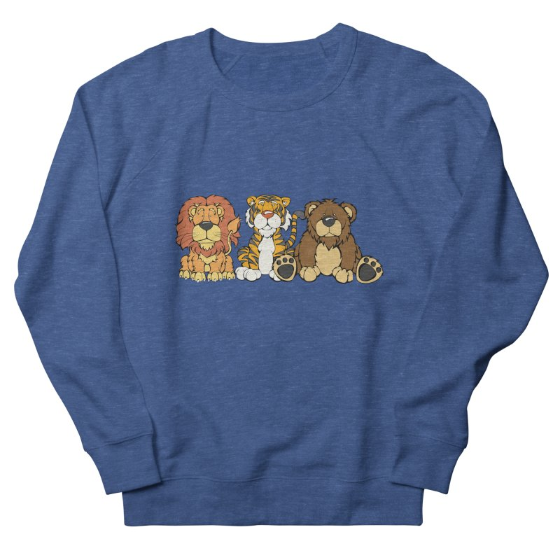 Lions & Tigers & Bears Men's Sweatshirt by Angry Squirrel Studio