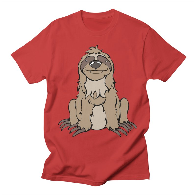 The Sloth Men's T-Shirt by Angry Squirrel Studio