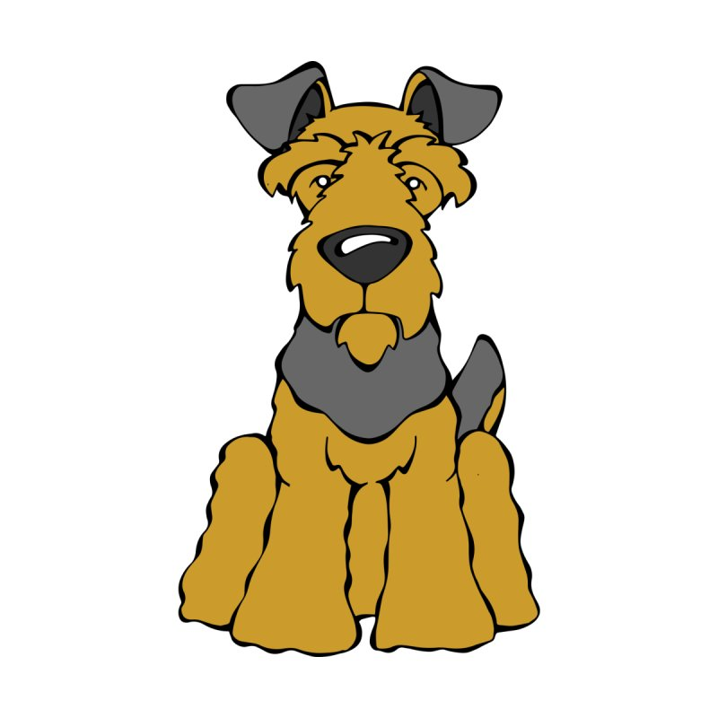 Welsh Terrier  by Angry Squirrel Studio