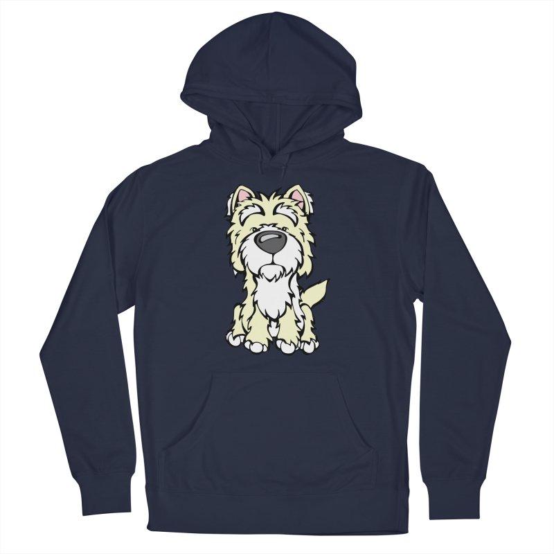 Westie Men's Pullover Hoody by Angry Squirrel Studio