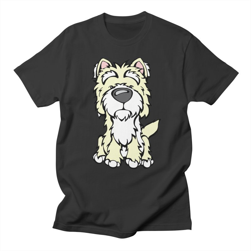Westie Men's T-Shirt by Angry Squirrel Studio