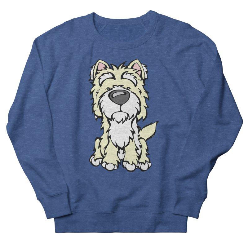 Westie Men's Sweatshirt by Angry Squirrel Studio