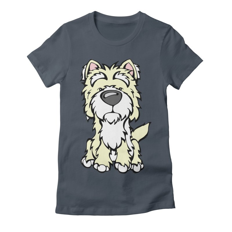 Westie Women's T-Shirt by Angry Squirrel Studio
