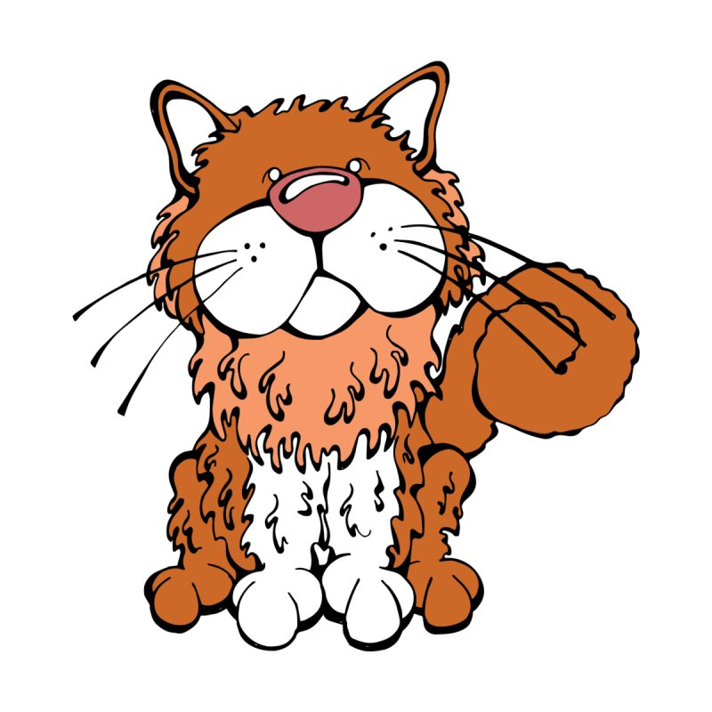 Selkirk Rex  by Angry Squirrel Studio