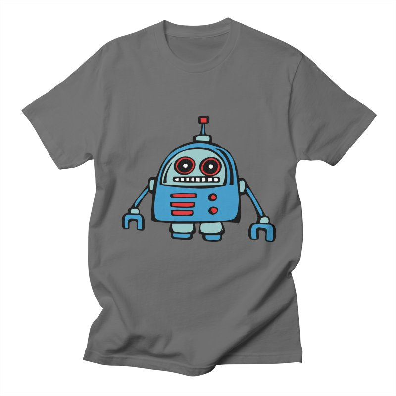 Robot No. 12 Men's T-Shirt by Angry Squirrel Studio