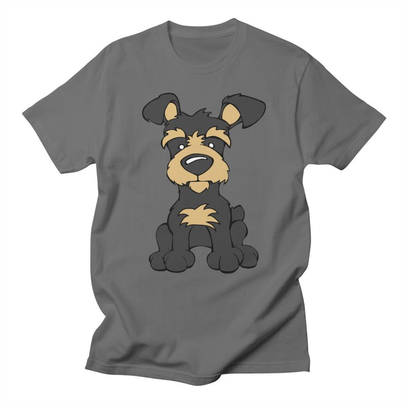 Yorkipoo Men's T-Shirt by Angry Squirrel Studio