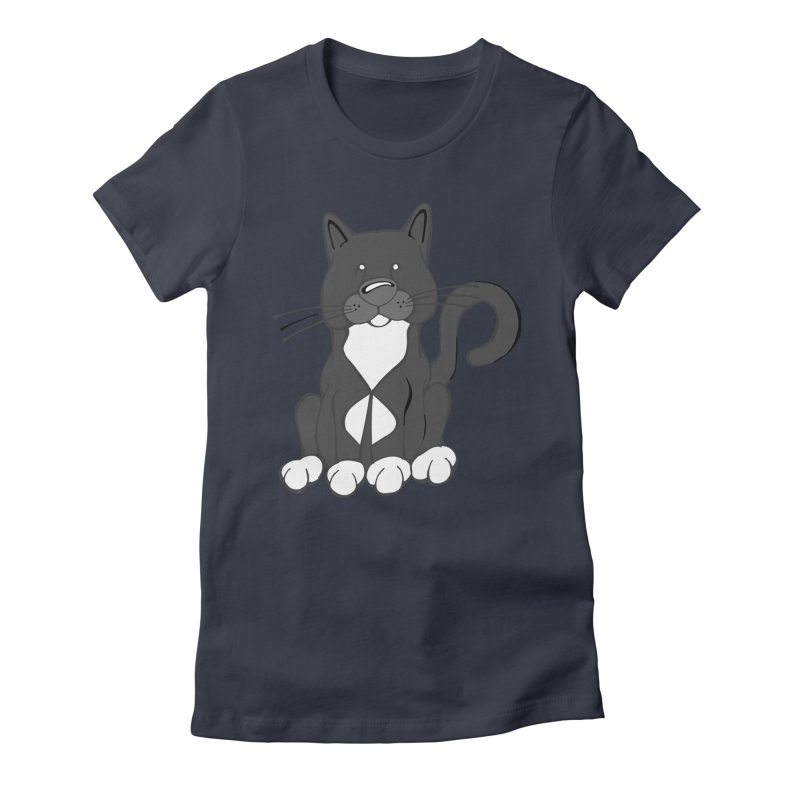 Van, The Man Women's Fitted T-Shirt by Angry Squirrel Studio