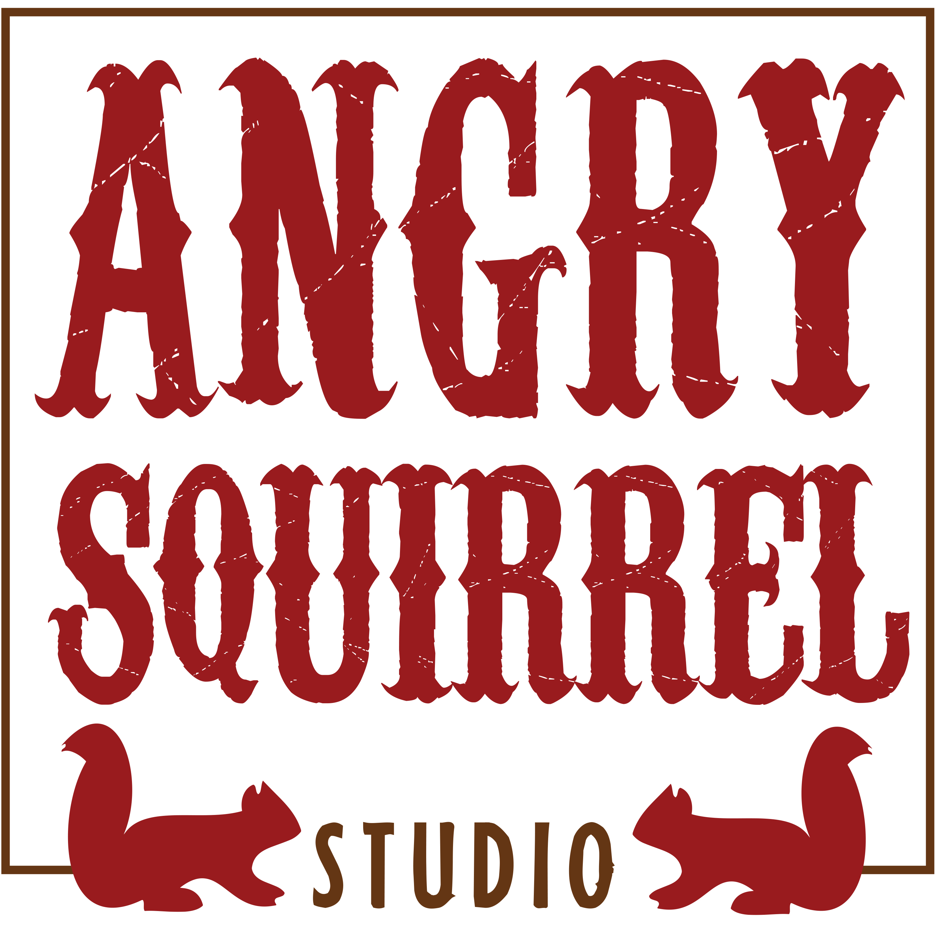 Angry Squirrel Studio Logo