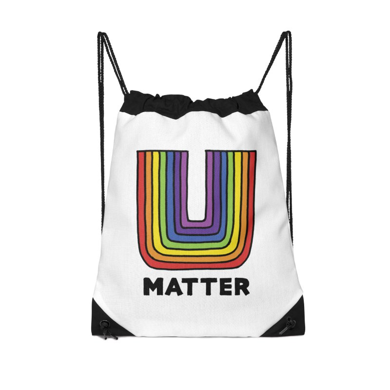 U MATTER Accessories Bag by angrystrongo