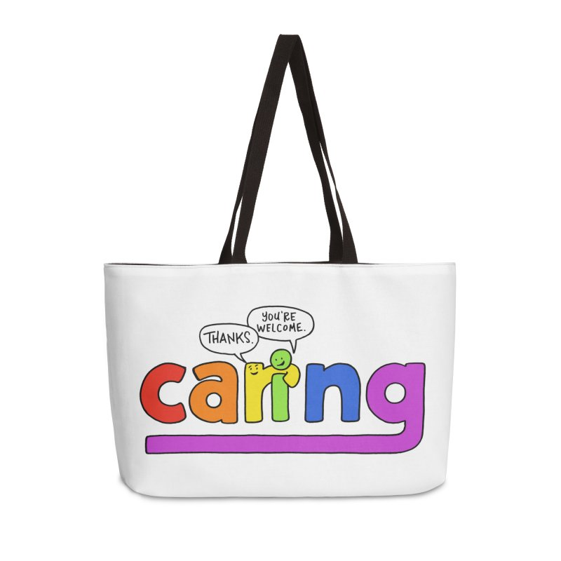 Caring...it's what we do. Accessories Bag by angrystrongo