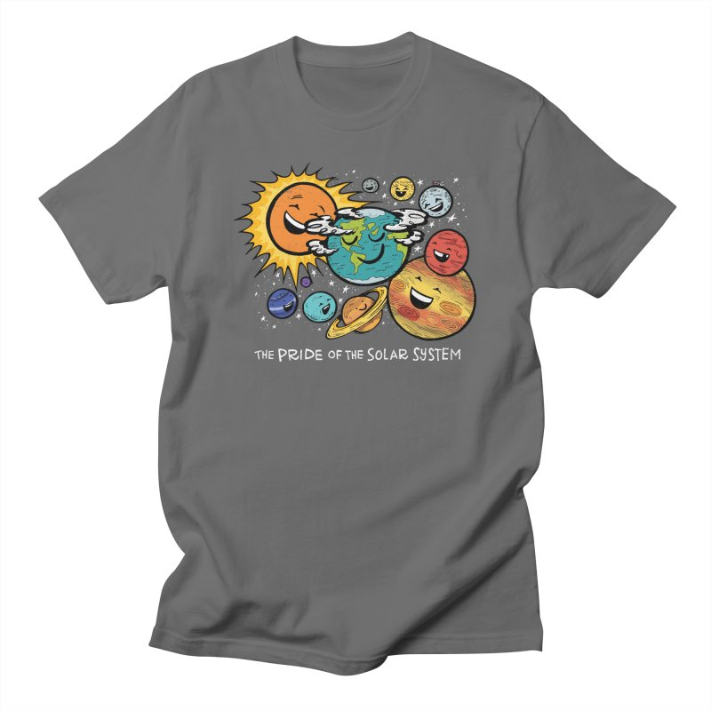 The PRIDE of the SOLAR SYSTEM Men's T-Shirt by angrystrongo