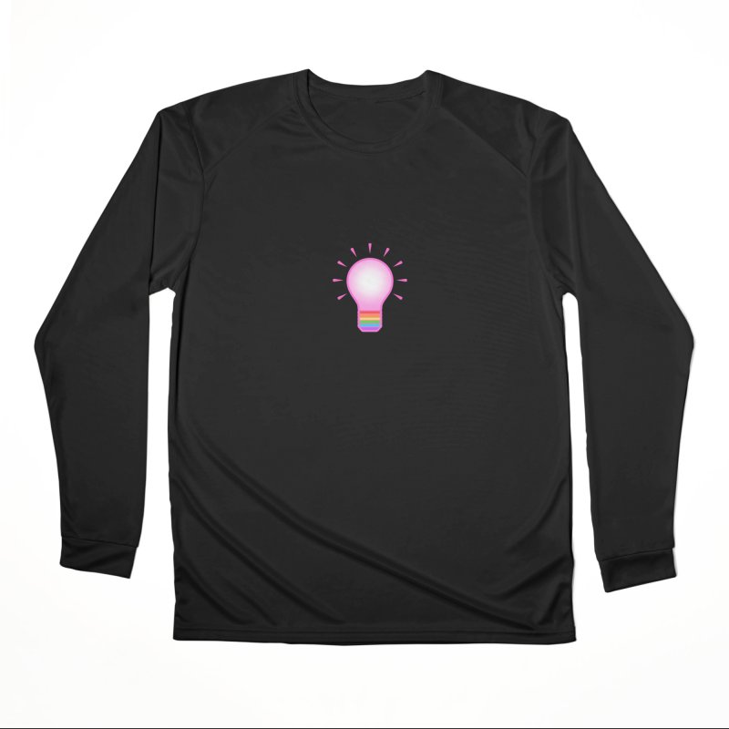 A GAY IDEA Men's Performance Longsleeve T-Shirt by an idle robot
