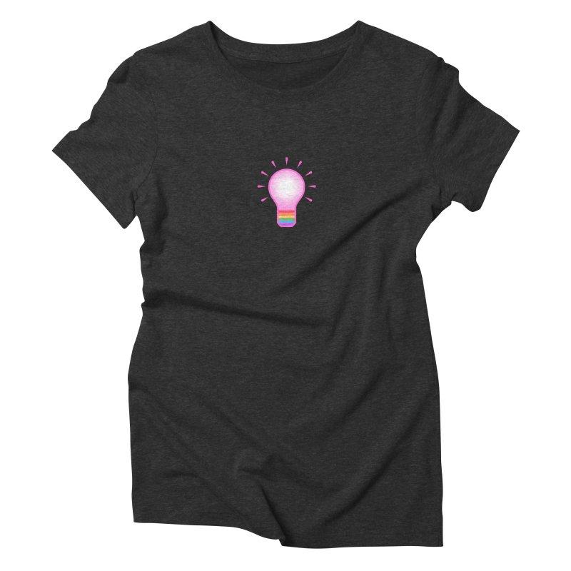 A GAY IDEA Women's Triblend T-Shirt by an idle robot