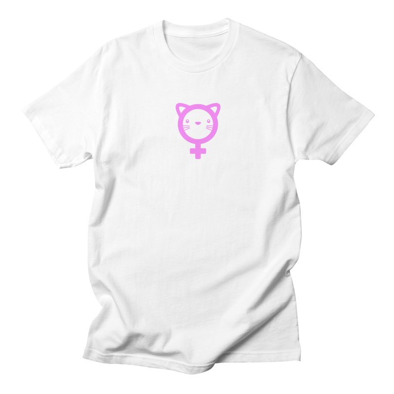 PUSSY POWER Men's Regular T-Shirt by an idle robot