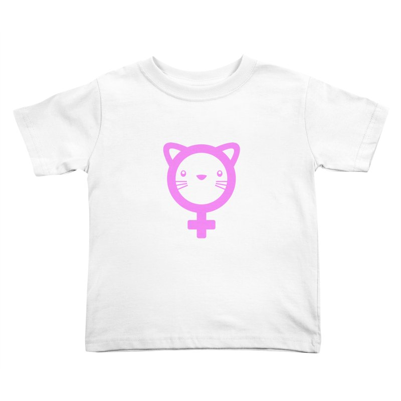 PUSSY POWER Kids Toddler T-Shirt by an idle robot