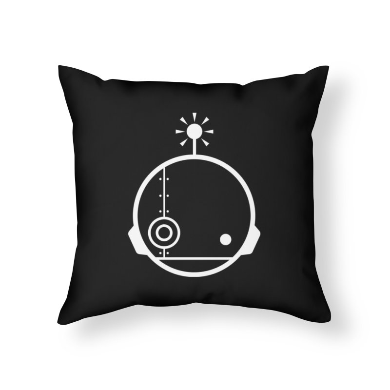 AN IDLE ROBOT Home Throw Pillow by an idle robot