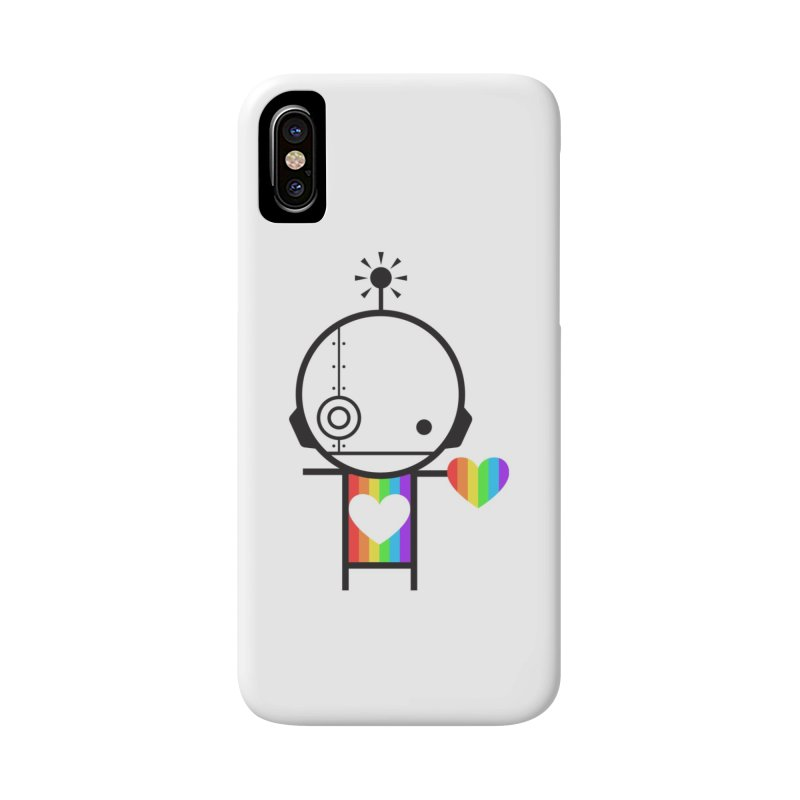 PRIDE SHARE Accessories Phone Case by an idle robot
