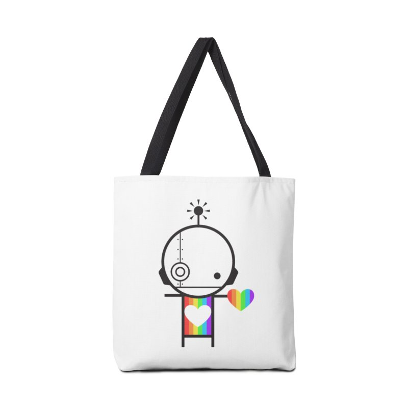 PRIDE SHARE Accessories Tote Bag Bag by an idle robot