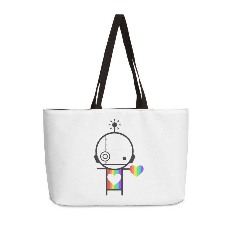 PRIDE SHARE Accessories Weekender Bag Bag by an idle robot
