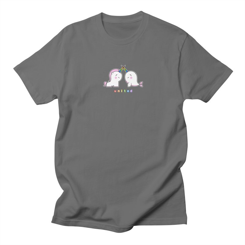 UNITED Men's T-Shirt by an idle robot
