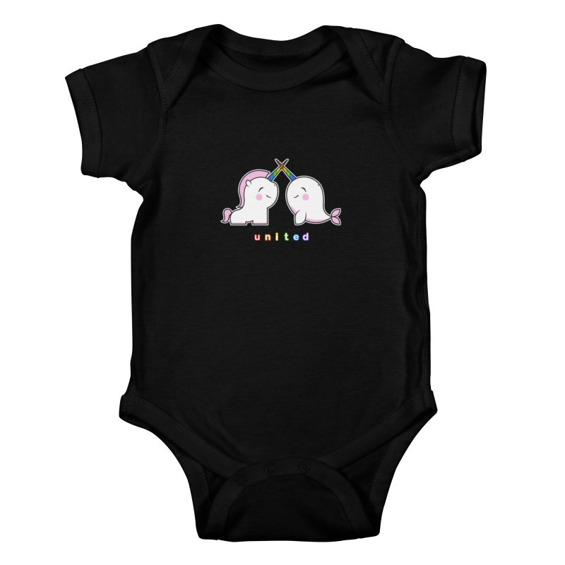 UNITED Kids Baby Bodysuit by an idle robot