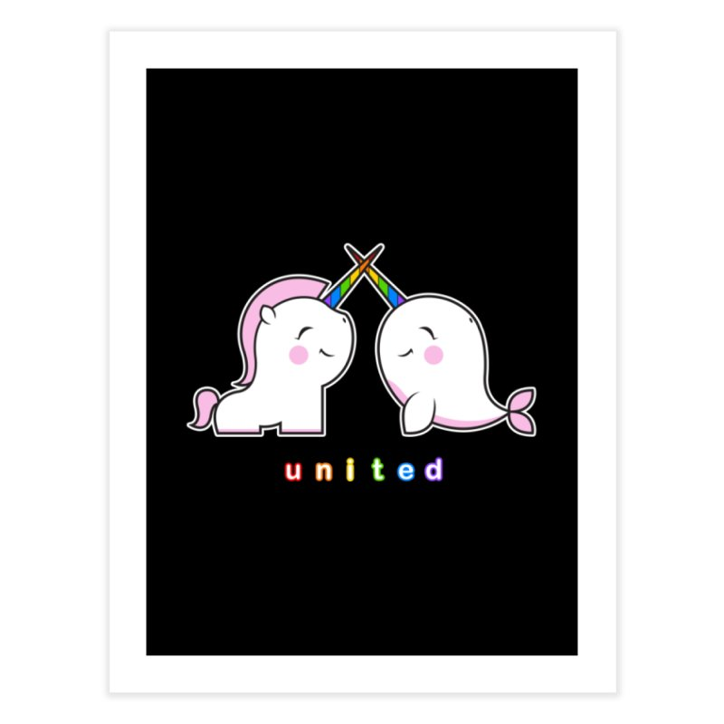 UNITED Home Fine Art Print by an idle robot