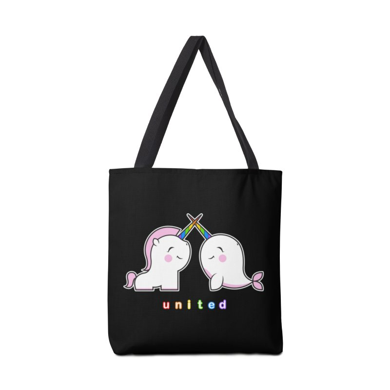 UNITED Accessories Tote Bag Bag by an idle robot