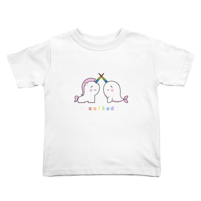 UNITED Kids Toddler T-Shirt by an idle robot