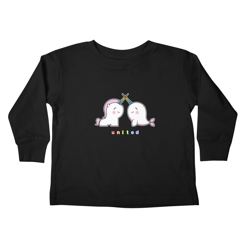 UNITED Kids Toddler Longsleeve T-Shirt by an idle robot