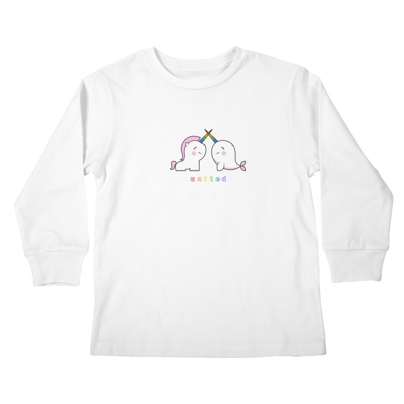 UNITED Kids Longsleeve T-Shirt by an idle robot