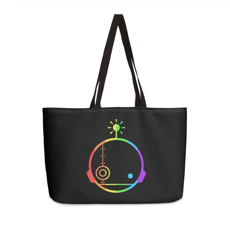 AN IDLE ROBOT PRIDE Accessories Weekender Bag Bag by an idle robot