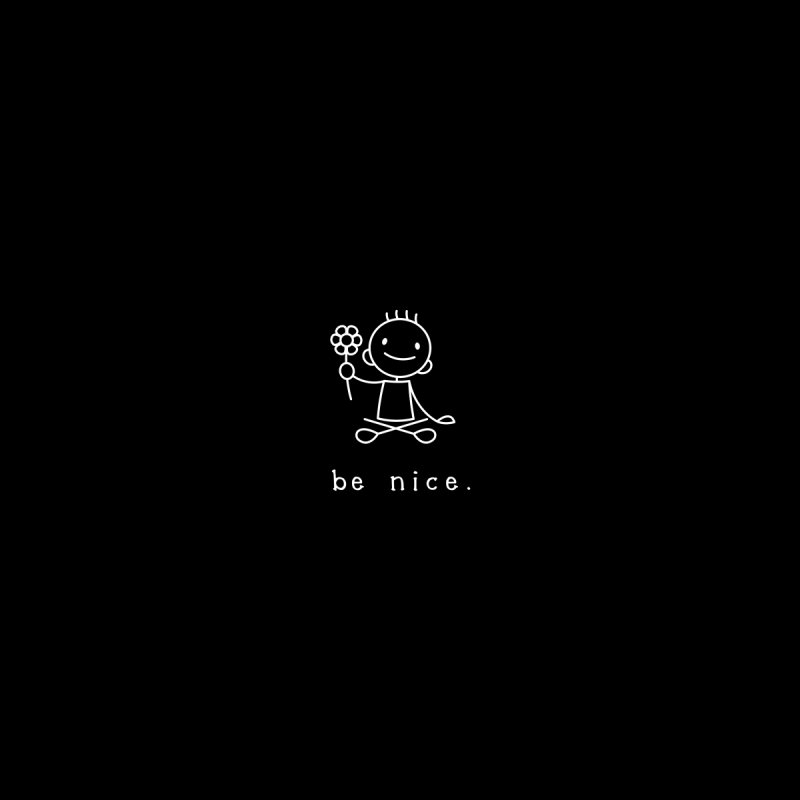 BE NICE Women's T-Shirt by an idle robot