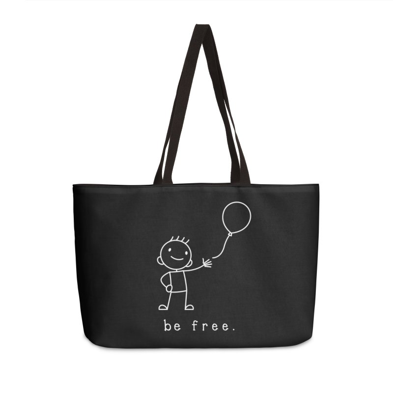 BE FREE Accessories Weekender Bag Bag by an idle robot