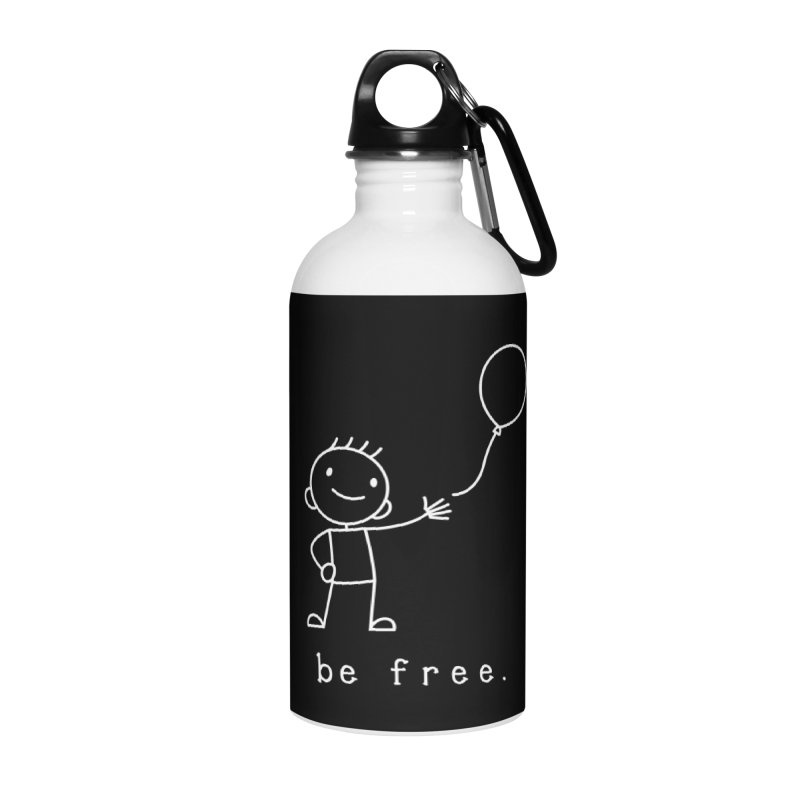 BE FREE Accessories Water Bottle by an idle robot