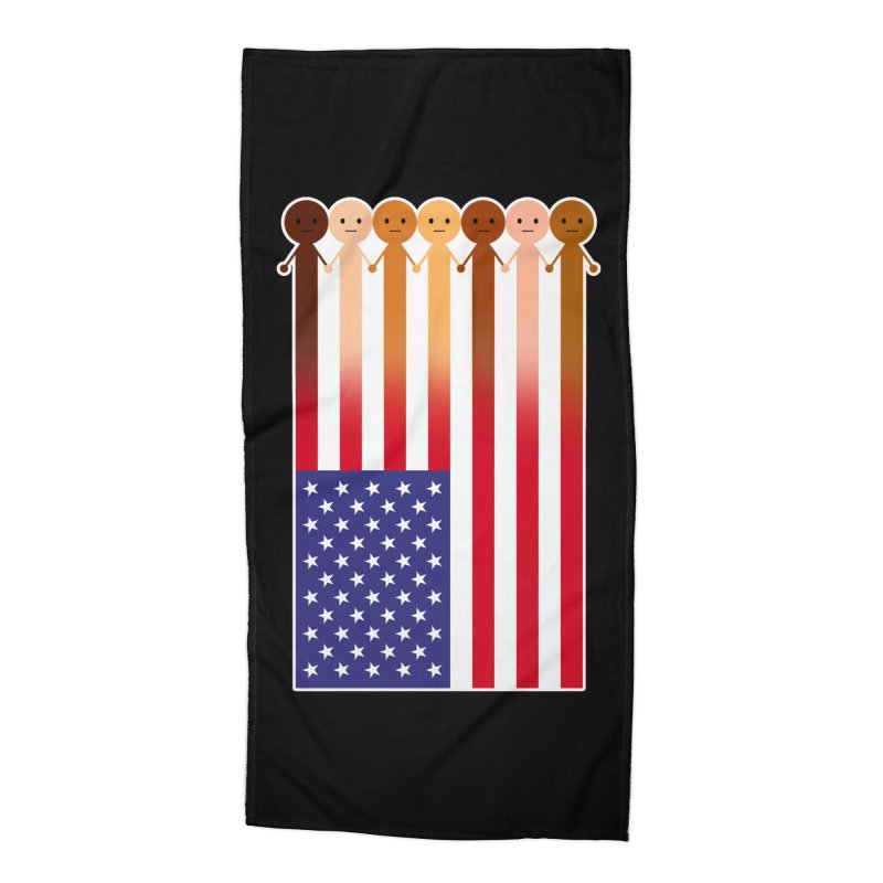WE THE PEOPLE Accessories Beach Towel by an idle robot