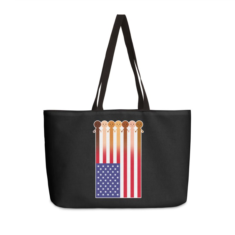 WE THE PEOPLE Accessories Weekender Bag Bag by an idle robot