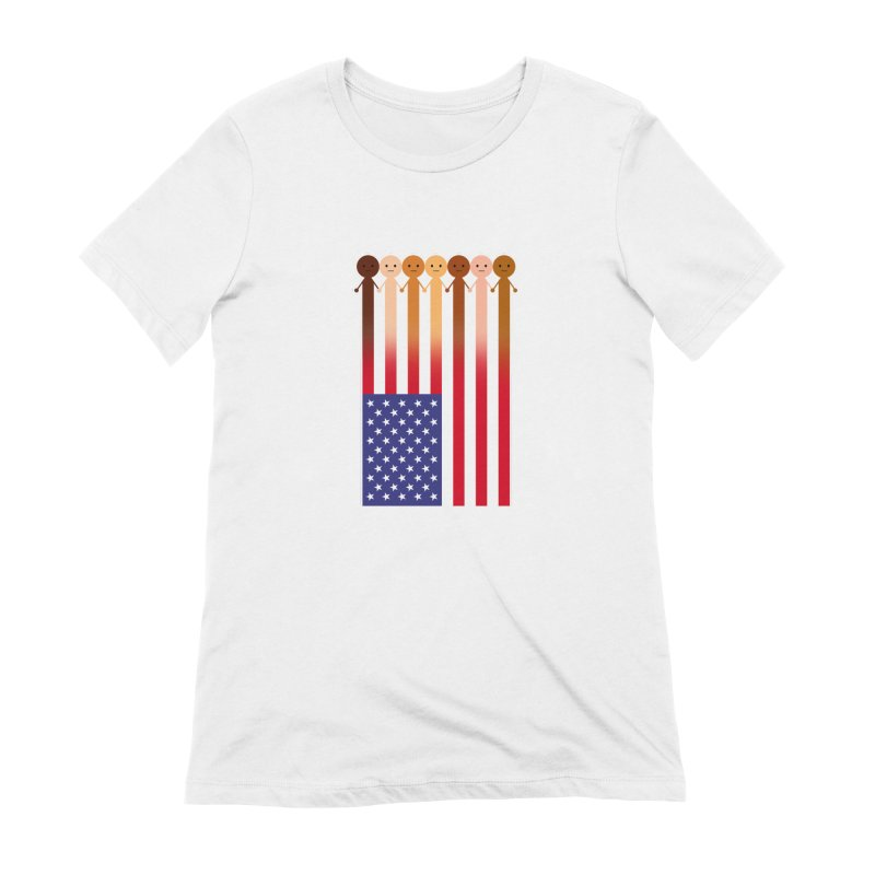 WE THE PEOPLE Women's T-Shirt by an idle robot