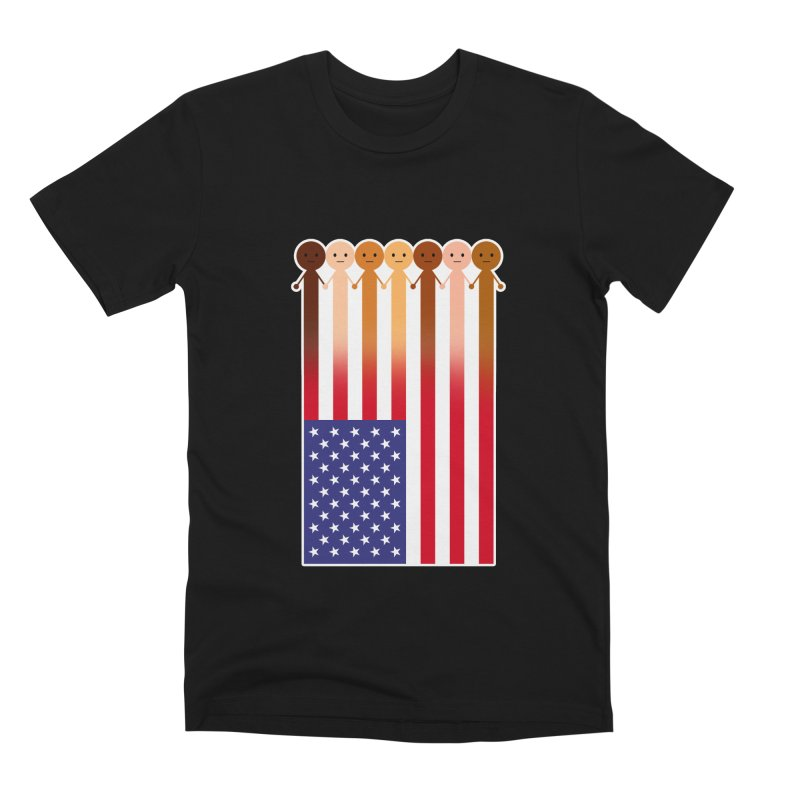 WE THE PEOPLE Men's Premium T-Shirt by an idle robot