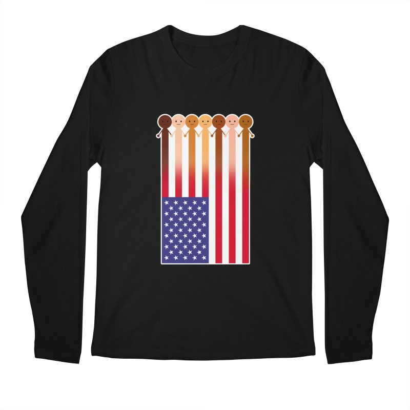 WE THE PEOPLE Men's Longsleeve T-Shirt by an idle robot