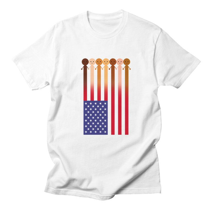WE THE PEOPLE Men's T-Shirt by an idle robot