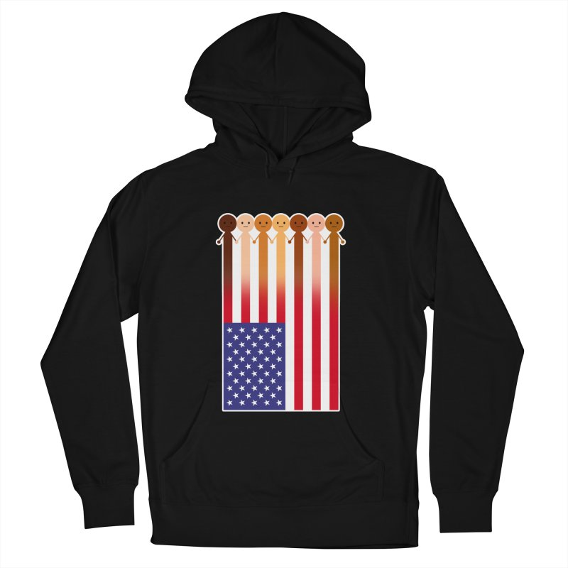 WE THE PEOPLE Men's French Terry Pullover Hoody by an idle robot