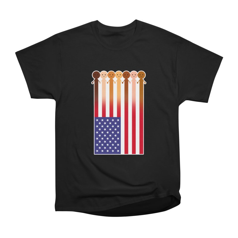 WE THE PEOPLE Men's Heavyweight T-Shirt by an idle robot