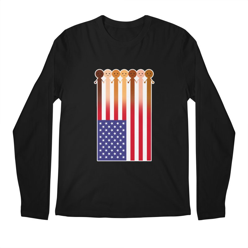 WE THE PEOPLE Men's Regular Longsleeve T-Shirt by an idle robot